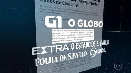 Veículos de comunicação formam parceria para dar transparência a dados da Covid-19