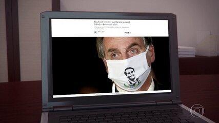 Assessor de Bolsonaro é responsável por página derrubada pelo Facebook, diz investigação