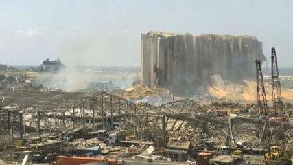 Reuters sobre explosão no Líbano: investigações iniciais apontam negligência
