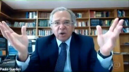 'Vocês desmataram seus países', diz Paulo Guedes a estrangeiros