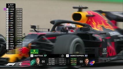 Verstappen dá escapada da pista