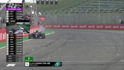Confira a volta final de Lewis Hamilton que vence mais uma na Fórmula 1