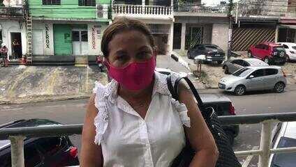Mulher relata falta de oxigênio em hospital de Manaus