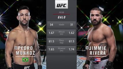 UFC Rozenstruik x Gané - Pedro Munhoz x Jimmie Rivera (vídeo exclusivo para assinantes Combate)