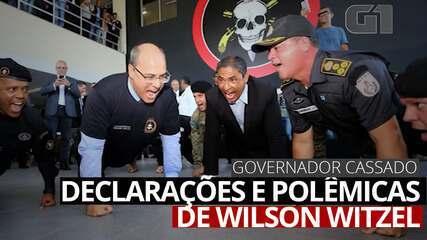 VÍDEO: declarações e imagens polêmicas de Wilson Witzel
