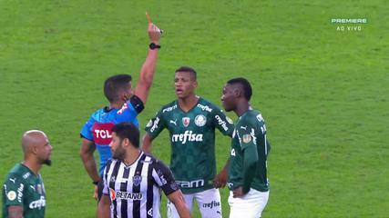 At 35 of the 1st time - Patrick de Paula is sent off for receiving the second yellow card and, by complaint, Abel Ferreira also receives the red