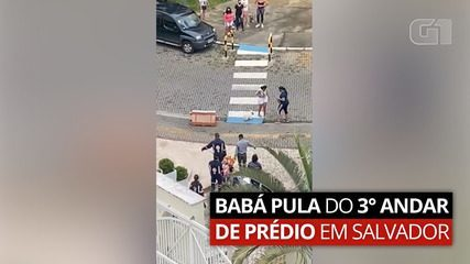 Nanny plays from the 3rd floor of a building in Salvador;  police investigate committed private prison