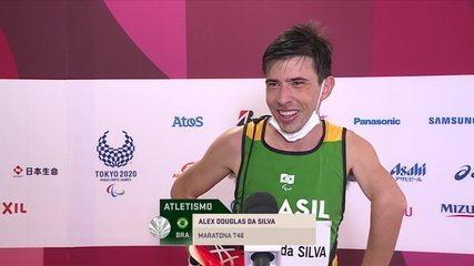 Alex Pires talks about silver in the T46 Men's Marathon - Tokyo 2020 Paralympics