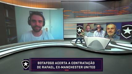 Botafogo hits signing Rafael, ex-Manchester United