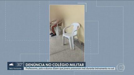 Teachers, parents and students denounce mistreatment in training at Colégio Militar de BH