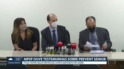 Ministério Público de São Paulo ouviu mais duas testemunhas sobre os procedimentos da Prevent Senior