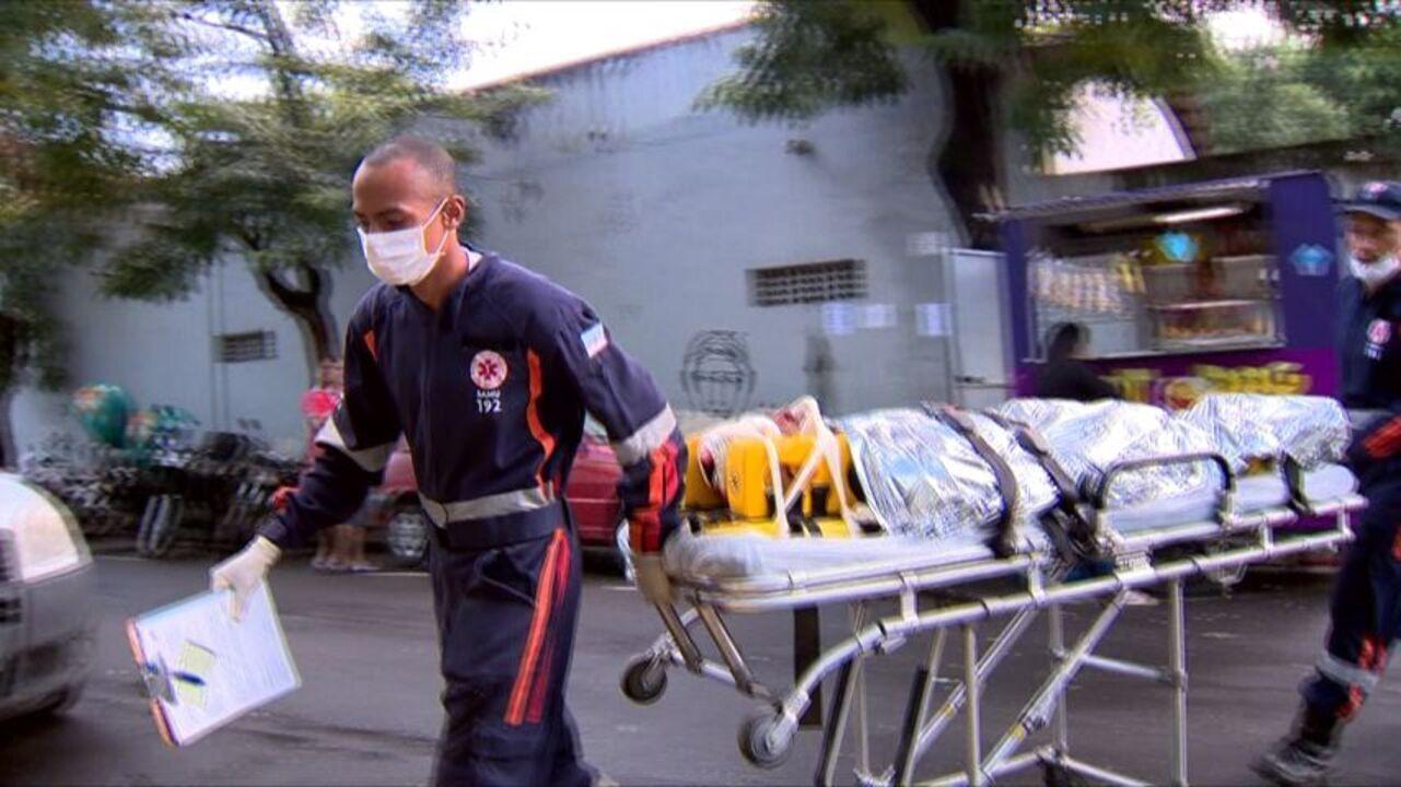 Primeiras vítimas de acidente em Guarapari chegam ao Hospital São Lucas