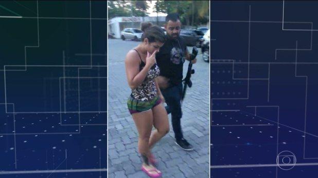 Polícia do Rio prende a mulher do traficante Nem da Rocinha