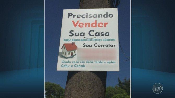 Apesar de fiscalização, grupo volta a vender terrenos públicos ilegalmente em Campinas