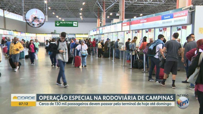 Veja destinos mais procurados para feriadão de 12 de outubro na Rodoviária de Campinas