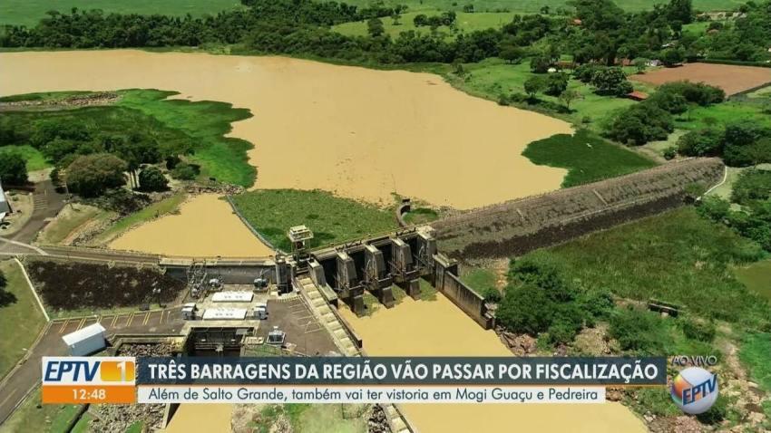 Três barragens da região de Campinas vão passar por fiscalização