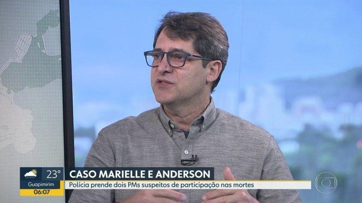 Fernando Veloso comenta sobre operação que prendeu suspeitos da morte de Marielle