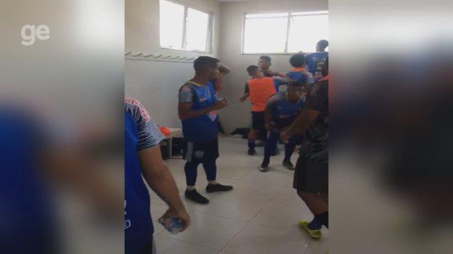 Andradina acusa José Bonifácio de trancar jogadores no vestiário