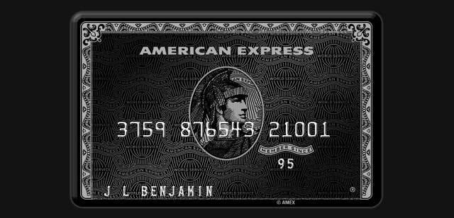 American Express Centurion La Tarjeta De Crdito Sin