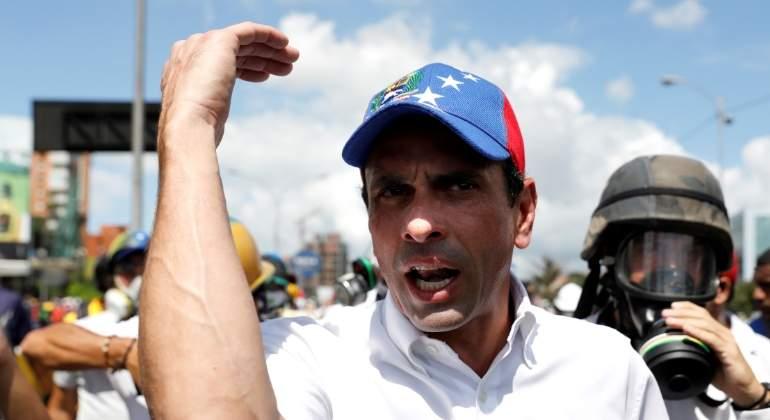 Resultado de imagen para VENEZUELA: Capriles confirma plan opositor para este viernes en Caracas