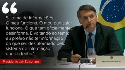 Veja as principais falas de Jair Bolsonaro durante reunião ministerial