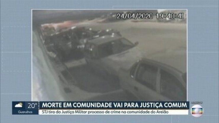 STJ tira da Justiça Militar processo de crime na comunidade do Areião