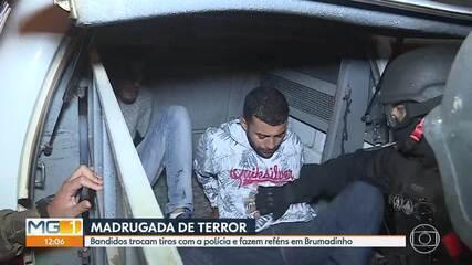 Tentativa de assalto a banco em Brumadinho causa pânico na madrugada