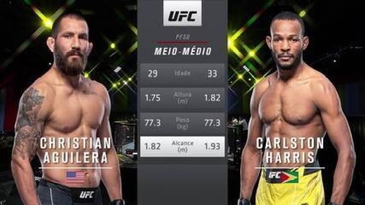UFC Rodriguez x Waterson - Christian Aguilera x Carlston Harris
