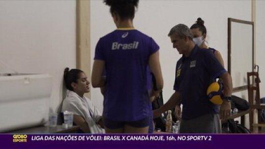 Após perder referências, Brasil enfrenta o Canadá pela Liga das Nações