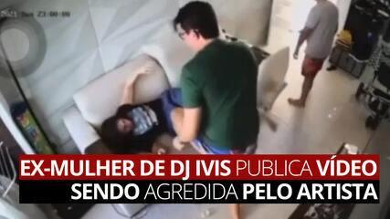 Ex-mulher de DJ Ivis publica vídeo sendo agredida pelo artista em apartamento de Fortaleza