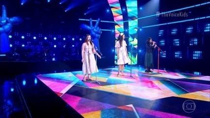 Elana Rei, Izabelle Ribeiro and Luana Mello sing 'If I Didn't Love You So Much'
