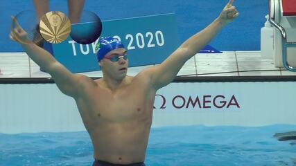 Tokyo 2020 - 25/08 - Gabriel Bandeira - Gold in Swimming