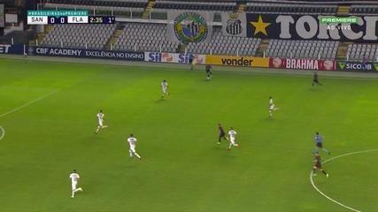 Highlights: Santos 0 x 4 Flamengo for the 18th round of the Brasileirão
