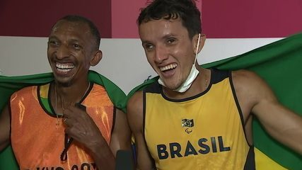 """""""Comes more record there!"""";  Yeltsin and Bira talk about men's 1500m T11 - Tokyo Paralympics historic gold"""