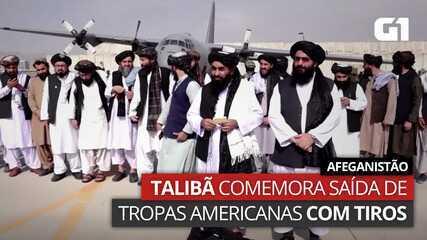 VIDEO: Taliban celebrates US troops leaving Afghanistan with gunfire