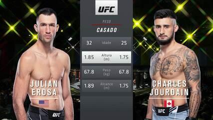 UFC Brunson v Till - Julian Erosa v Charles Jourdain