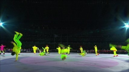 Lots of music and dancing at the closing ceremony of the Tokyo Paralympic Games