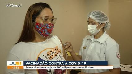Belém has already immunized more than 400 thousand people with the 2nd dose of the vaccine against Covid-19