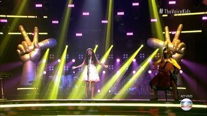 Izabelle Ribeiro sings 'Never Stop Dreaming (Seeds of Tomorrow)'