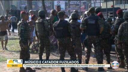 Começa nesta quarta-feira (13) o julgamento dos militares acusados das mortes em Guadalupe