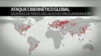 Ataque cibernético derruba sistemas de comunicação de serviços públicos de 74 países