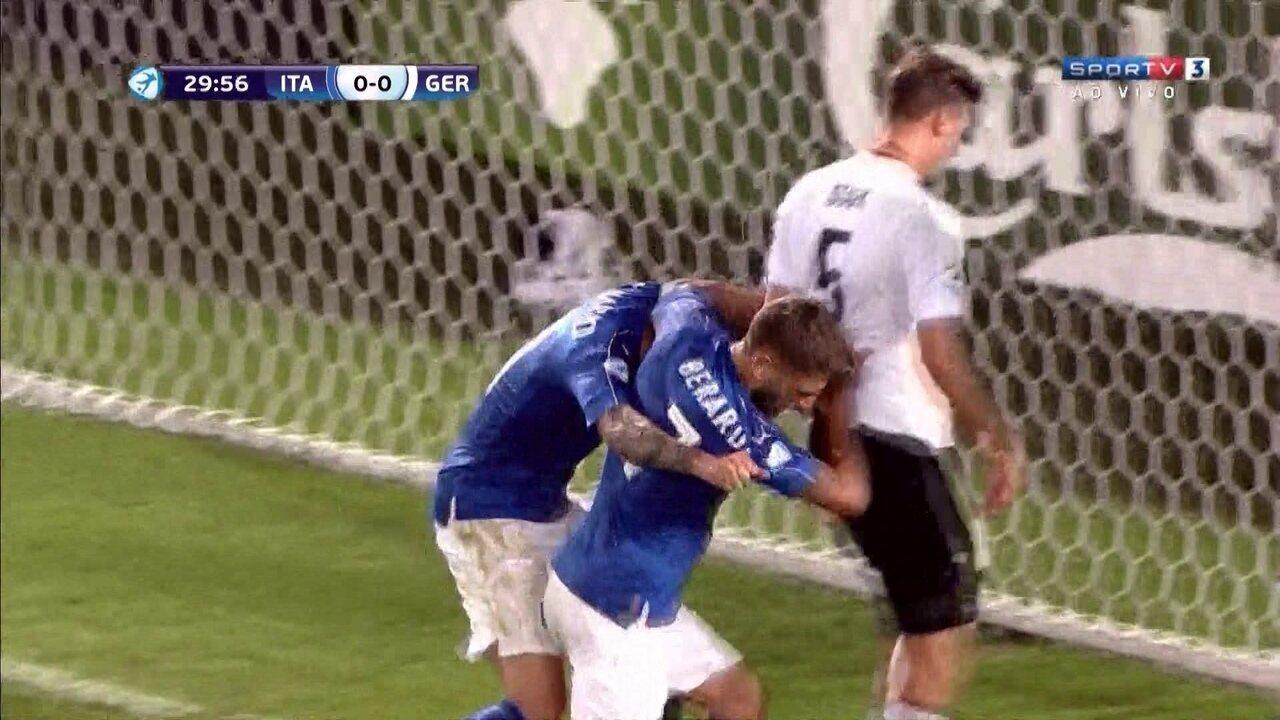 Resultado de imagem para Itália vence Alemanha e ambos avançam às semifinais da Euro Sub-21
