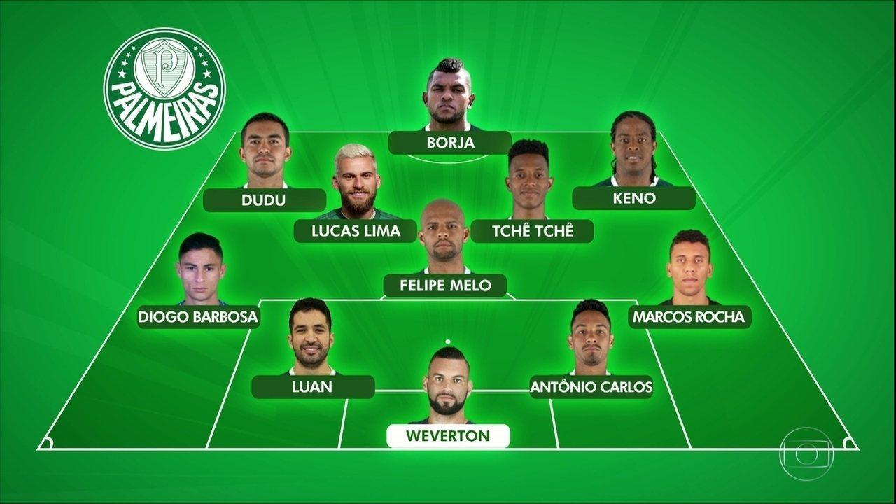 Globo Esporte Sp Roger Machado Esbo 231 A Palmeiras Titular