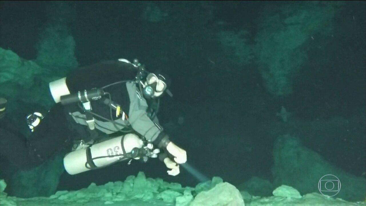 Mergulhadores e geólogos explicam como será o trabalho de resgate na caverna na Tailândia