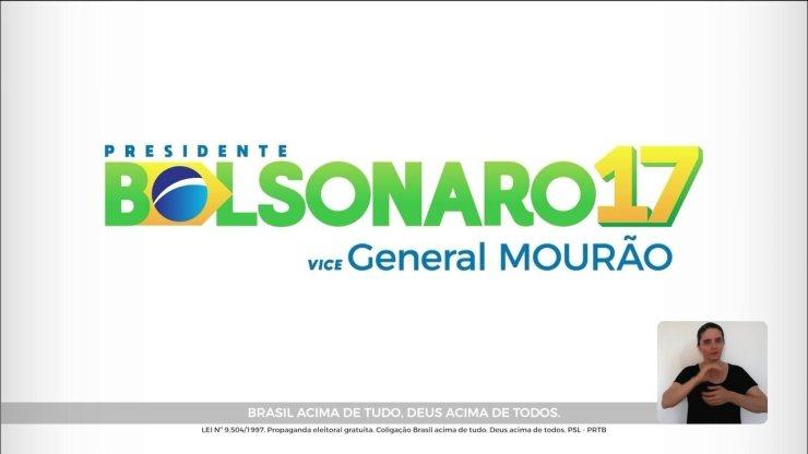 Veja último horário eleitoral do candidato Jair Bolsonaro