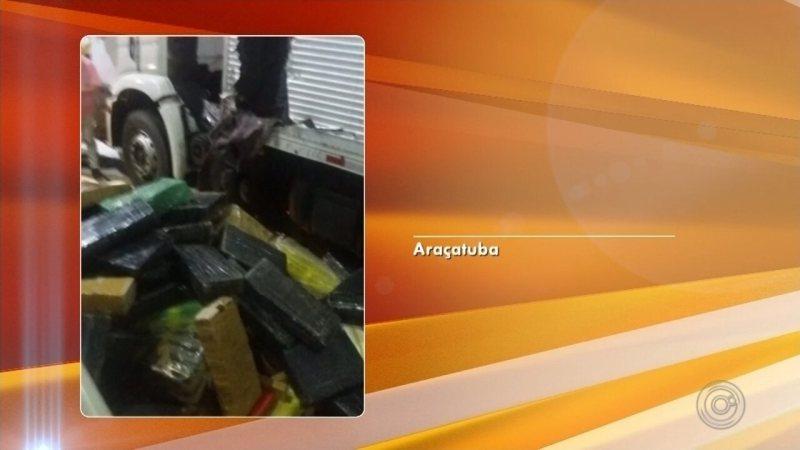 Polícia Militar apreende duas toneladas de maconha em Araçatuba