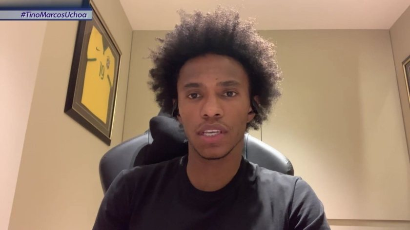 Willian talks about the beginning of his career at Corinthians