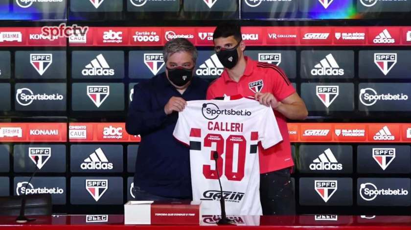 Check out Calleri's press conference at São Paulo