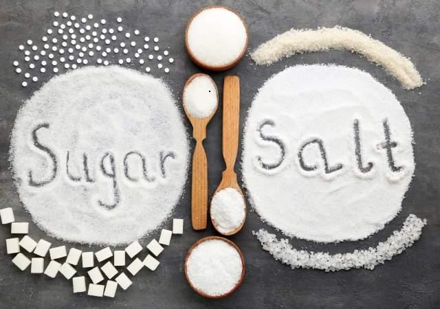 Resultado de imagen para sal y azucar