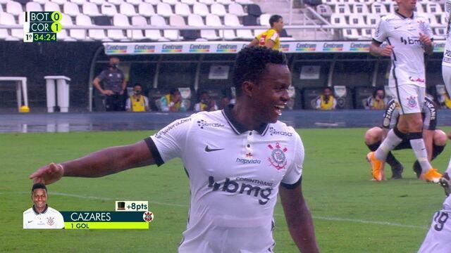 Melhores momentos de Botafogo 0 x 2 Corinthians pela 27º do Brasileirão